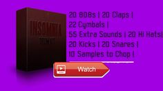 Insomnia Drum Kit New 17 Beat Hip Hop Trap Samples  Insomnia Drum Kit New 17 Beat Hip Hop Trap Samples Purchase this Kit here Insomnia Drum kit comes with s