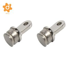 United 1 Piece 1 Inch 25mm Stainless Steel Bimini Top Eye End Cap Aluminum Alloy Umbrella Cap Hardware For Marine Boat Yacht Marine Hardware Atv,rv,boat & Other Vehicle