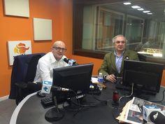 """Antonio Banda, CEO de Feelcapital, con el periodista económico Manuel Tortajada en el programa Visión Global de Radio Intereconomía. """"La inflación ya empieza a aparecer en Europa, eso puede dar algo de vida a los mercados"""", afirmó Banda. #FondosDeInversión (8 de febrero de 2017)."""
