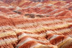 Isn't mother nauture astonishing? Witness the streams of color among the Magical Rainbow Mountains of #China: http://onebigphoto.com/magical-rainbow-mountains-of-china/