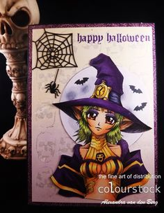Copic Marker Benelux: Happy Halloween gemaakt door Alexandra