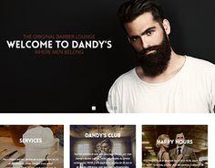 Dandy, Working On Myself, Portfolio Design, New Work, Barber, Trust, Behance, Lounge, Website