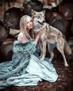 Nikon Photography, People Photography, Portrait Photography, Wolves And Women, Satyr, Foto Art, Blue Brown, Wolf, Creations