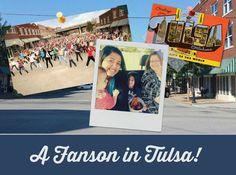 A Fanson in Tulsa