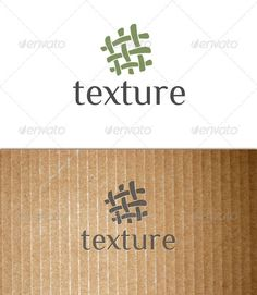 Texture (fabric, textile, tissue, cloth) logo  #GraphicRiver         This is a…