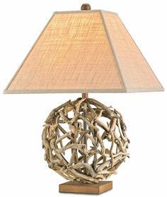 love this drift wood lamp, for my new beach house of course.