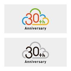「【オンラインでのオリエンも実施】 マイクロソフトの日本法人設立30周年を記念するロゴを大募集!」へのishi_deさんの提案一覧 Typography Logo, Logos, Icon Package, Japan Logo, Anniversary Logo, Sale Banner, Game Logo, Technology Logo, Logo Design Inspiration