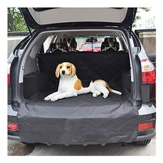 Mydays Waterproof Durable Pet Seat Cover for Cars Cargo Cover Liner Bed Floor Mat Fits Most Cars SUV Vans Trucks  Dog Car Seat Cover Nonslip Rubber Backing with Anchors L4278inches -- Be sure to check out this awesome product.(This is an Amazon affiliate link and I receive a commission for the sales)