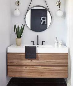 Lavabo minimalista,