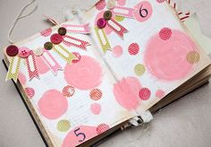 """Can't get enough of this """"Countdown to Christmas"""" crafty book by Ashley Newell. Every page is so cute and fun - I've got big plans to make my own (soon, I hope!)"""