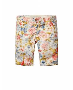 All-over printed flower shorts - Shorts - Official Scotch & Soda Online Fashion & Apparel Shops