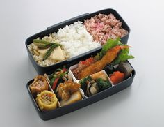 Amazon.com: Skater Japanese Modern/Traditional Compartmental 2-Tier Bento Lunch Box, 900ml, Chopsticks: Aladdin Lunch Container: Kitchen & Dining
