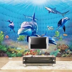 $9.83 (Buy here: https://alitems.com/g/1e8d114494ebda23ff8b16525dc3e8/?i=5&ulp=https%3A%2F%2Fwww.aliexpress.com%2Fitem%2FCustom-3D-Mural-Wallpaper-Underwater-World-Dolphin-Children-s-Bedroom-Living-Room-Sofa-Background-Photo-Wallpaper%2F32688761445.html ) Custom 3D Mural Wallpaper Underwater World Dolphin Children's Bedroom Living Room Sofa Background Photo Wallpaper De Parede 3D for just $9.83
