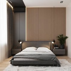 130 minimalist bedroom decor ideas that are not too much but just enough 19 Modern Luxury Bedroom, Master Bedroom Interior, Luxury Bedroom Design, Modern Master Bedroom, Bedroom Bed Design, Contemporary Bedroom, Minimalist Bedroom, Luxurious Bedrooms, Home Decor Bedroom