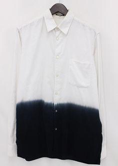 "bostonroll: ""Ann Demeulemeester fall 2012 dyed oversized shirt """