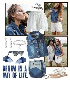 """Denim"" by gallant81 ❤ liked on Polyvore featuring BYRON, Chicwish, Freestyle Revolution, Bling Jewelry, Journee Collection, Dorothy Perkins, Ray-Ban, NARS Cosmetics and Urban Decay"