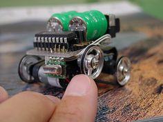 Micro electronic robots | Jonathan ジョナサン | Flickr