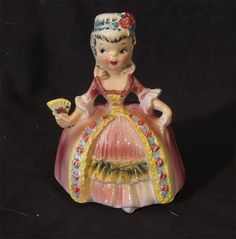 Collector Quality M Vintage Porcelain America Figurine Dolls of The World | eBay
