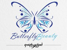 Butterfly Logo Design  Exclusive Butterfly Design by graphixgod, $99.00