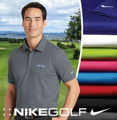Nike Golf Dri Fit Solid Icon Pique Polo About This Product Dri-FIT moisture  management