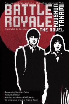 Battle Royale by Koushun Takami: This book is probably the place to start if you're looking for a more adult version of The Hunger Games.  The plot is very similar: 21 male and 21 female students are sent by the Japanese government to an island where they must battle each other to the death.  Longer, more violent, and every bit as exciting as The Hunger Games, Battle Royale is considered a cult classic.