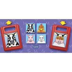 Mix or Match Puzzle Farm Animals