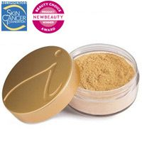 Jane Iredale foundation is the best mineral foundation! It's smooth, light, paraben-free, and contains SPF 20.