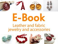 Ebook Fabric and leather jewelry and accessories