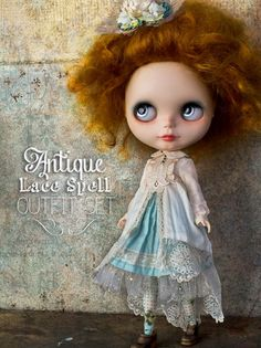Blythe Outfit Set from I Have Wings (so beautiful)