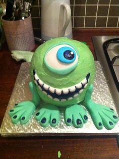 Monster Birthday cake.
