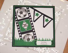 Omellie's Designs: Fußballkarte / Footballcard / Soccercard