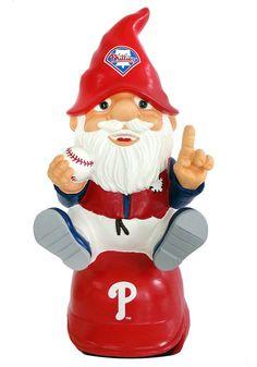 Philadelphia Phillies Garden Gnome - On Team Logo