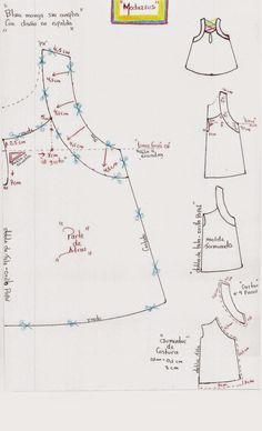 molderia de blusa modazeus