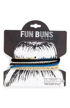 Cutest way to hold up a bun | Lulu 'Fun Buns' Bun Wrap