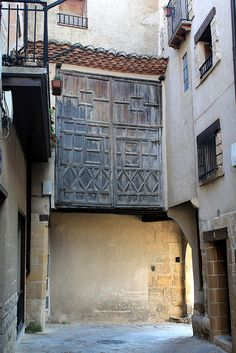 Portal de San Gergorio, Beceite,  Teruel  Spain   by Marlis1,