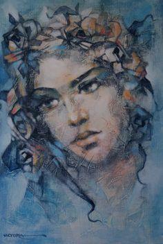 victoria stoyanova art   Scent of a Woman   Victoria Stoyanova, 1968   Tutt'Art@   Pittura ...