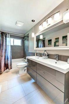 Badezimmer Beleuchtung Ideen Houzz #Badezimmer