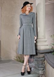 1940s style coat at Stop staring.com.  Id love this in a different colour