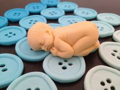 3D Baby cake topper fondant decoration customized to suit your theme shower birthday christening