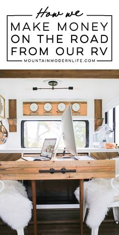 Curious how we're able to travel in our RV and make money? Come see why blogging has changed our lives and download my free eBook and Resources guide! MountainModernLife.com