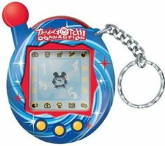 Tamagotchi Connection V4 - Blue Spiral by Bandai. $39.99. Online community and interactivity with passwords. There are single or 2 player games: 6 total. Gotchi point system: player is awarded points at each stage of growth and players earn points for playing games. Dictate your Characters education, career and lifestyle. Over 20 new characters in this version: 52 total. From the Manufacturer                Kids can communicate with friends using the new Tamagotchi Connecti...