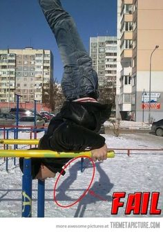 Gymnastics fail… Took me a second longer than it should have.