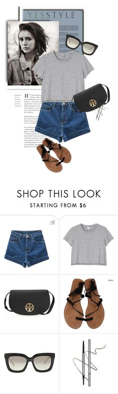 """""""YESSTYLE.com"""" by monmondefou ❤ liked on Polyvore featuring chuu, Monki, Tory Burch, Michael Kors, Summer and yesstyle"""