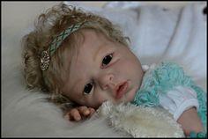 Reborn Baby Awake Noah by Reva Schick Now Allison | eBay