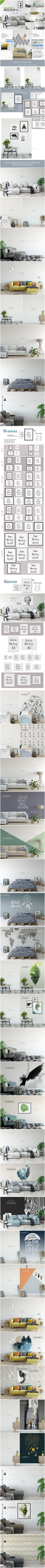 53 best Mockups | Posters * Prints * Frames images on Pinterest ...