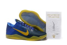 finest selection 868be 46795 2016-2017 Sale Kobe 11 XI Flyknit Blue Lagoon Laker Yellow Gold New Arrival  2016
