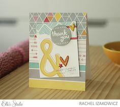 Thank You card by Rachel Izakowicz