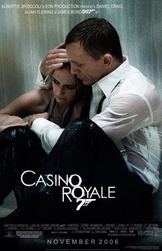 Casino Royale.  I ONLY like the new Bond movies with Daniel Craig.  He is awesome as Bond.