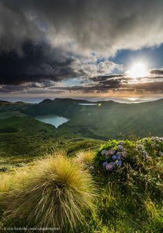 Lagoas Rasa e Funda - Landscape, Azores, Portugal by Luis Godinho