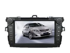 AutoABC for Toyota Corolla 2009 2010 2011 In Dash 8 Inch GPS Navigation System (Free Map) DVD Player with Bluetooth Radio Video Ipod TV by AutoABC. $449.00. Attention: This item is compatible with Toyota Corolla 2009 2010 2011  Function:   1. 8 inch HD Digital Screen, Touch-Screen: 800*480 high resolution, 3D UI like iphone4   2. Built-in Bluetooth with A2DP for hands free call system, BT music, phone book   3. USB /SD slot on panel, maximum 16G      4. Built-in ...